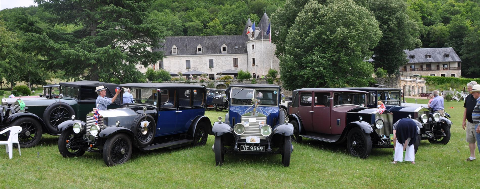 Rolls-Royce Enthusiast's club in La Fleunie